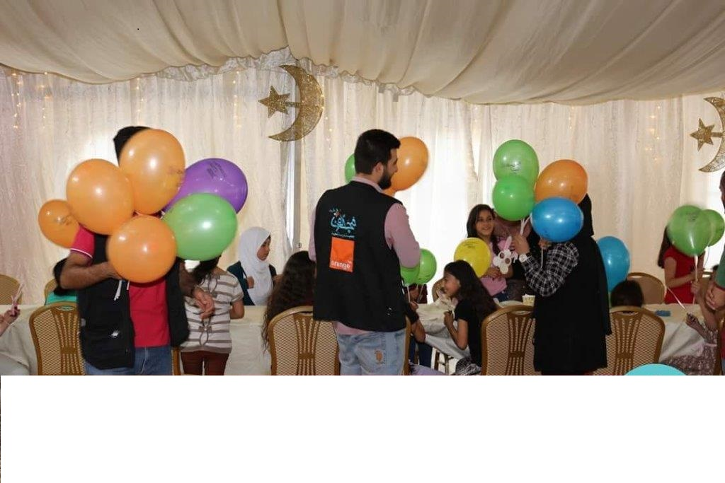 """نتيجة بحث الصور عن أورانج الأردن تدعم سلسة الحملات الخيرية لـ""""مجددون"""" في الشهر الكريم"""
